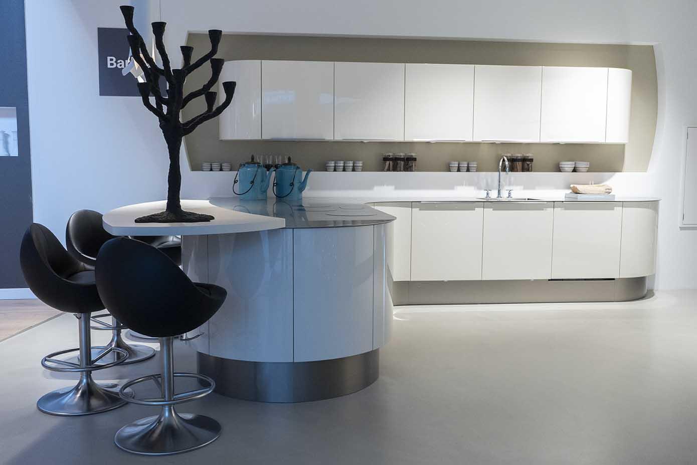 Magnolia ronde keuken
