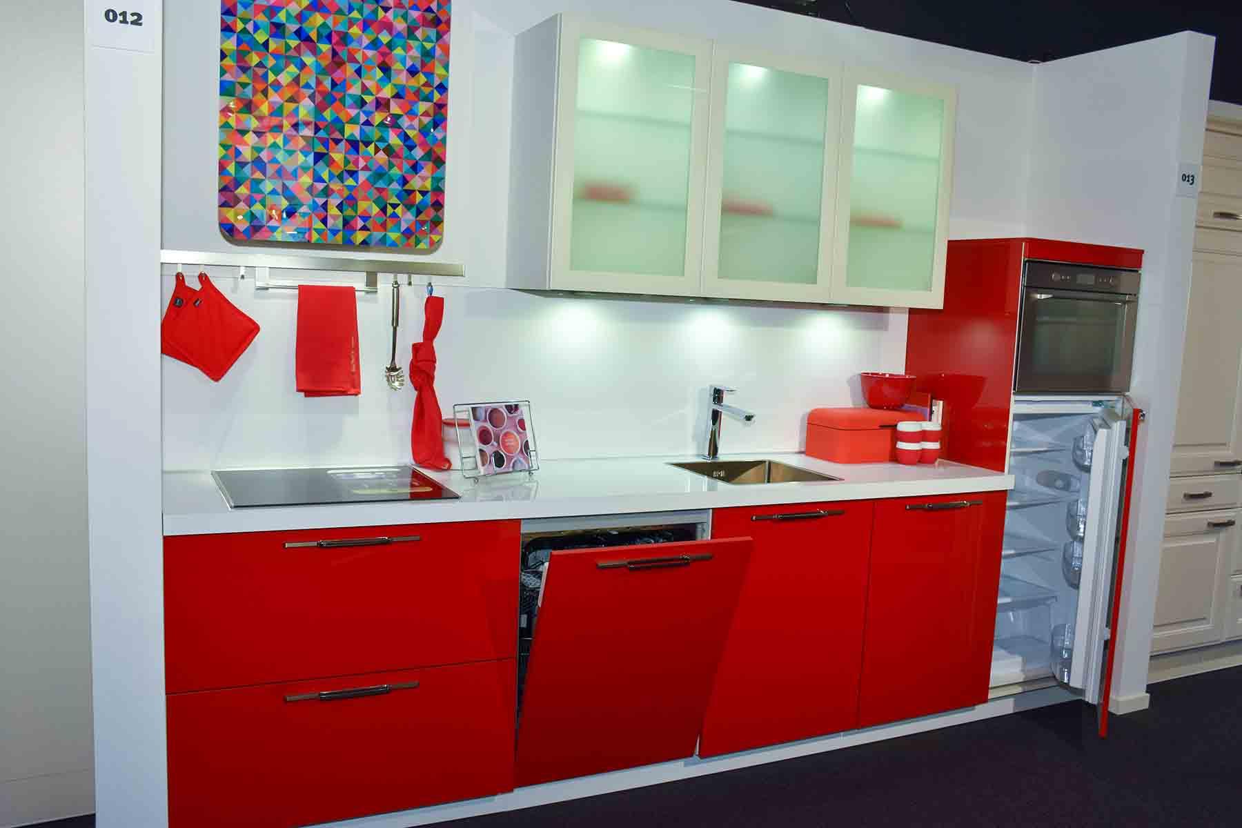 Rode keuken