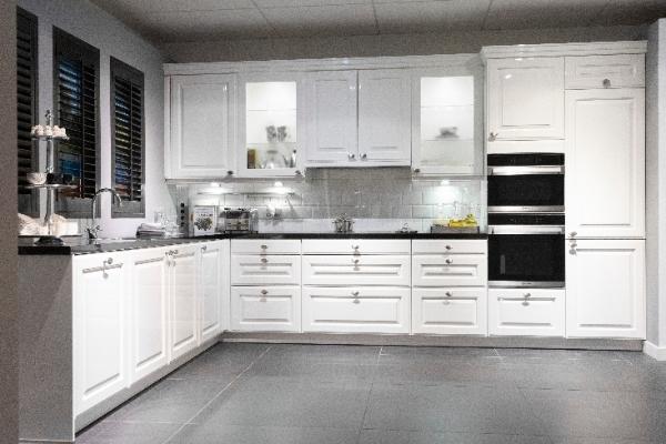 Keukenmaxx hoek showroomkeuken