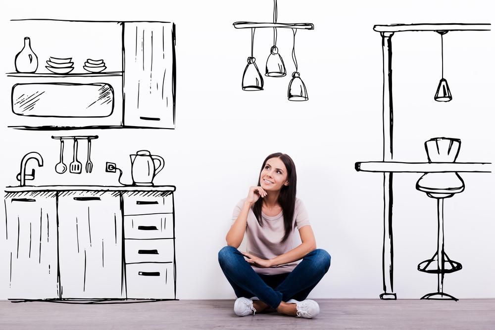 Dromen over een nieuwe, goedkope keuken