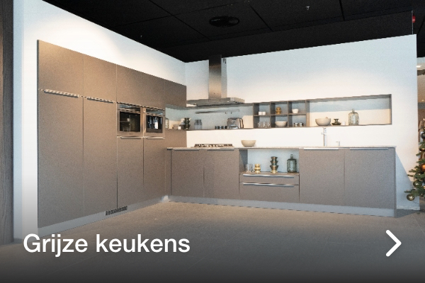 Grijze keukens