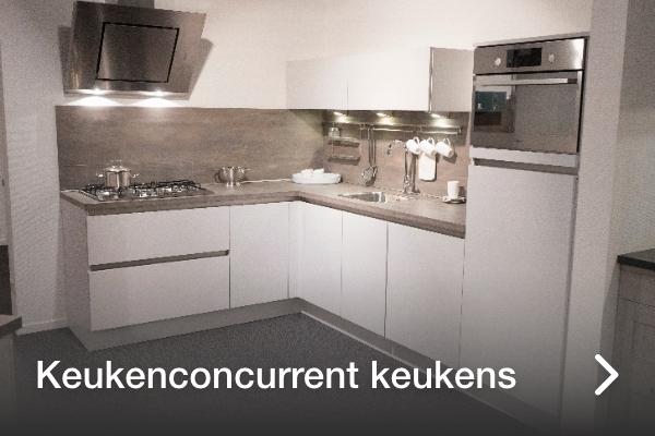 Keukenconcurrent keukens