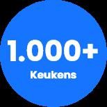 1.000+ Keukens