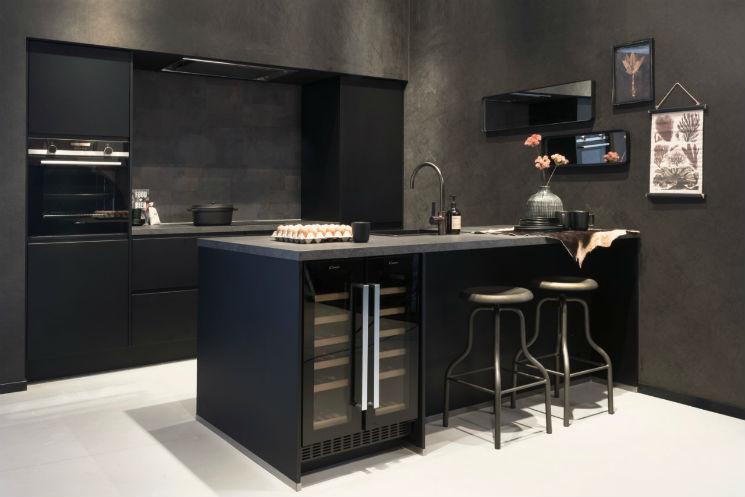 Eiland keuken zwart